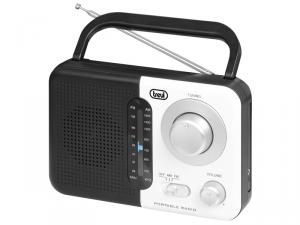 Trevi RA 768 Portatile Analogico Nero, Bianco radio