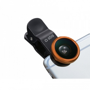 SBS TEKITLENS21 obiettivo per cellulare Macro & wide Nero