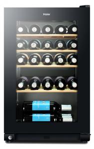 Haier WS 30GA Libera installazione Cantinetta vino con compressore Nero 30bottiglia/bottiglie A