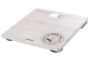 Soehnle Bamboo Bilancia pesapersone elettronica Quadrato Bianco