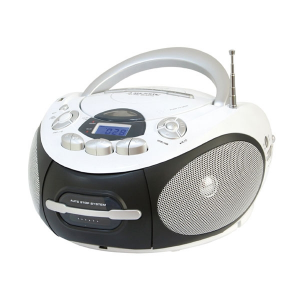 New Majestic AH-2387 Analogico Nero, Bianco radio CD