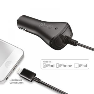 Celly CCIP5 Caricabatterie per dispositivi mobili Auto Nero