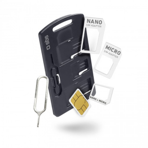 SBS TEKITSIMADAPTK adattatore per SIM/flash memory card SIM card adapter