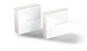 Meliconi 480525 BA Parete Cable box Bianco 2pezzo(i) organizer per cavi