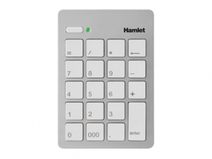 Hamlet Numeric Keypad tastierino numerico usb 2.0 argento