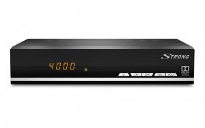 Strong SRT 7007 Satellite Full HD Nero set-top box TV