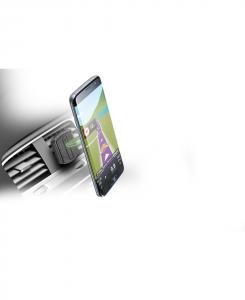 Cellularline Handy Force Drive - Universale Supporto auto magnetico stabile e sicuro Nero