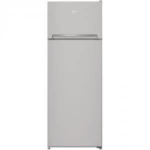 Beko RDSA240K20S Libera installazione 223L A+ Argento frigorifero con congelatore
