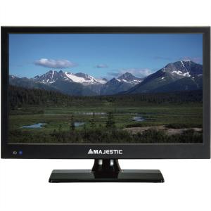 MAJESTIC TV LED 15,6'' HD READY DVB-T2 HEVC TVD-215/S2 GARANZIA ITALIA