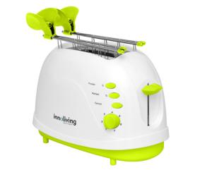 Innoliving INN-701 2fetta/e 700W Verde, Bianco tostapane