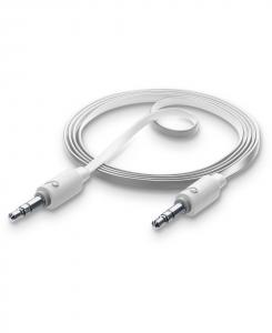Cellularline Aux Audio cavo audio 1 m 3.5mm Bianco