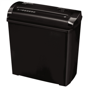 Fellowes P-25S Strip shredding Nero, Grigio distruggi documenti