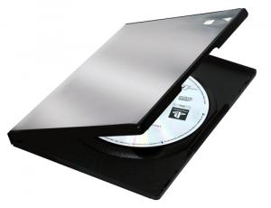 Fellowes 83357 custodia CD/DVD Scatola con DVD 1 dischi Nero