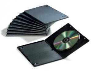 Fellowes 8336401 custodia CD/DVD Nero