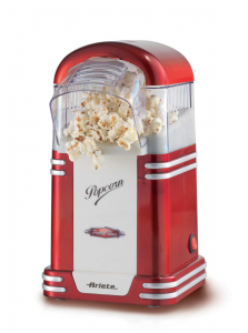 Ariete 2954 1100W Rosso, Bianco macchina per popcorn