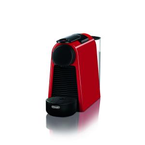 DeLonghi Essenza Mini EN 85.R macchina per caffè Libera installazione Macchina per caffè con capsule Nero, Rosso 0,6 L Automatica
