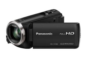 Panasonic HC-V180EG-K Videocamera palmare 2.51MP MOS BSI Full HD Nero videocamera