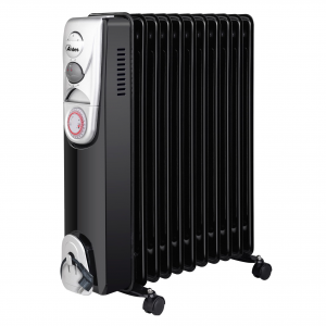 Ardes AR4R11BT stufetta elettrica Oil electric space heater Interno Nero, Bianco 2500 W