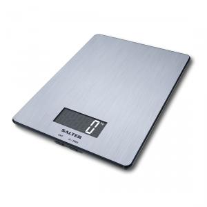Salter 1103 SSDR Da tavolo Rettangolo Bilancia da cucina elettronica Acciaio inossidabile bilancia da cucina