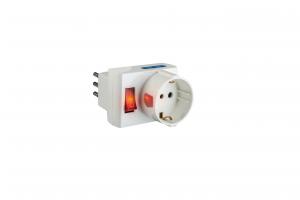 Poly Pool PP2380 Tipo L (IT) Tipo L (IT) Bianco adattatore per presa di corrente