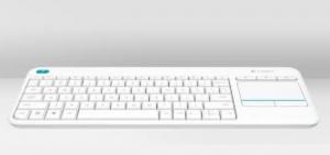 Logitech K400 Plus RF Wireless QWERTY Italiano Bianco tastiera