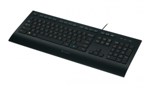 Logitech K280E USB QWERTY US International Nero tastiera