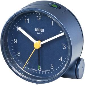 Braun BNC001BLBL Quartz table clock Rotondo Blu orologio da tavolo