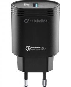 Cellularline Caricabatterie Veloce Per Dispositivi Di Ultima Generazione