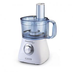 Ariete RoboMix Compact 500W 1.2L Argento, Traslucido, Bianco robot da cucina