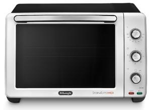 DeLonghi EO24352 24L 1800W Nero, Acciaio inossidabile Grill fornetto con tostapane