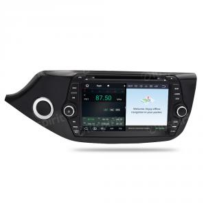 ANDROID 9.0 GPS DVD WI-FI Bluetooth MirrorLink autoradio 2 DIN navigatore compatibile con Kia Ceed/Cee'd 2012-2016
