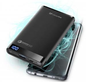 Cellularline FREEPMANTA12QCCK Polimeri di litio (LiPo) 120000mAh Nero batteria portatile