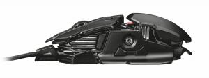 Trust GXT 138 X-RAY USB Ottico 4000DPI Mano destra Nero mouse