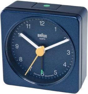Braun BNC002BLBL Quartz table clock Quadrato Blu orologio da tavolo