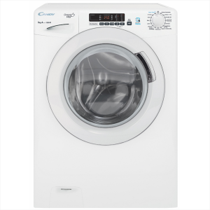 Lavatrice Stretta Candy GVS34125D3  34 cm Capacità 5 kg Velocità 1200 Giri 16 Programmi Colore Bianco