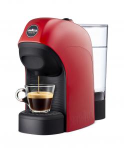 Lavazza LM800 Tiny Libera installazione Semi-automatica Macchina per caffè con capsule 0.75L 1tazze Nero, Rosso