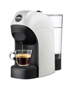 Lavazza LM800 Tiny Libera installazione Semi-automatica Macchina per caffè con capsule 0.75L 1tazze Nero, Bianco