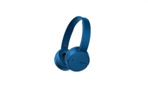 Sony WHCH500L Stereofonico Padiglione auricolare Blu cuffia e auricolare