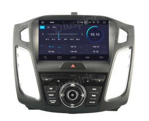 ANDROID 10 autoradio navigatore per Ford Focus 2015-2017 GPS DVD WI-FI Bluetooth MirrorLink