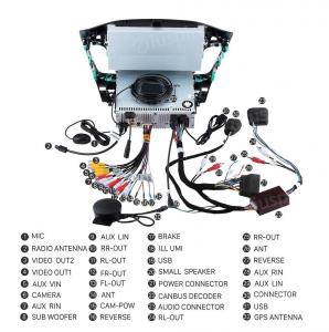 ANDROID 10 autoradio navigatore per Ford Focus 2015-2017 GPS DVD WI-FI Bluetooth MirrorLink