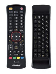 Meliconi Smart 4 RF Wireless Premi i pulsanti Nero telecomando