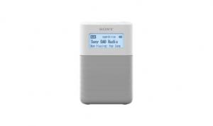 Sony XDR-V20D Orologio Digitale Bianco radio