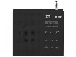 Trevi DAB 791 R radio Portatile Digitale Nero
