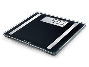 Soehnle Scale Shape Sense Control 100 Bilancia pesapersone elettronica Quadrato Nero