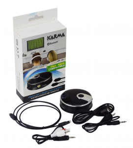 Karma Italiana CONV 4DB trasmettitore audio Bluethooth USB Nero