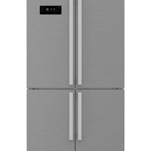 Beko GN1416232ZX Libera installazione 541L A++ Acciaio inossidabile frigorifero side-by-side