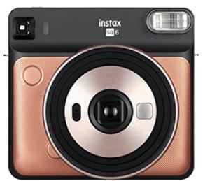 Fujifilm Instax SQ 6 instant digital camera 62 x 62 mm Oro