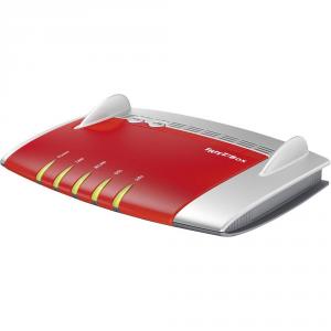 AVM FRITZ!Box 3490 International Dual-band (2.4 GHz/5 GHz) Gigabit Ethernet Rosso, Bianco router wireless