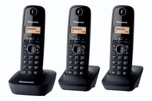 Panasonic KX-TG1613 Telefono DECT Nero Identificatore di chiamata