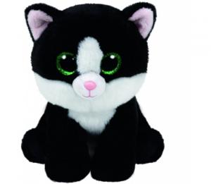 TY Ava Gatto giocattolo Nero, Bianco